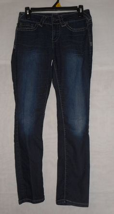 Womens/Jrs MAURICES Darkwash SIZE S-S JEANS #Maurices #unknown