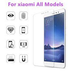 2.5D 0.3mm 9 H Premium En Verre Trempé pour Xiaomi Mi3/Mi4/Mi5/redmi 3/3 s redmi note/2/3 Tous Les modèles Téléphone Écran Protecteur Film