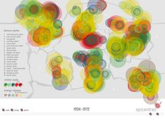 data visualisation with processing by info design, via Flickr