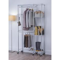 Details about mobile college dorm room closet organizer shelf storage furniture shelving college closet organizer best College Closet Organization, Closet Storage, Storage Organization, Closet Shelving, Basement Storage, Storage Ideas, Dorm Room Closet, Closet Space, Closet Office