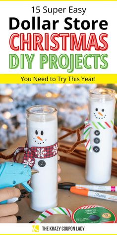 Dollar Tree Christmas, Diy Christmas Gifts For Family, Dollar Tree Crafts, Holiday Fun, Christmas Holidays, Christmas Ideas For Kids, Mary Christmas, Christmas Baskets, Homemade Christmas Gifts