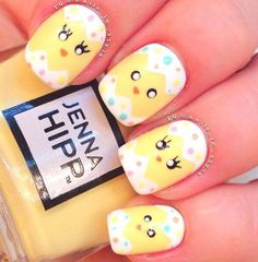 Add a fun and fanciful flair to your spring wardrobe with an Easter themed nail design. Let Peter Cottontail hop off the bunny trail and right onto your fingertips or maybe a springtime nest of baby chicks takes their place…