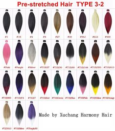 26 inch 90G per piece; made of low temperature synthetic fiber; stylizing with hot water easily. Synthetic Hair Extensions, Synthetic Wigs, Marley Braids, Jumbo Braids, Faux Locs, Hair Weft, Hair Type, Ponytail, Braided Hairstyles