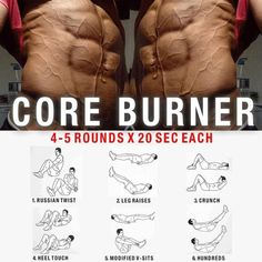 Core Burner Training ! Healthy Fitness Workout Plan