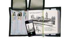 puzdrá na vizitky (vizitkáre) | EDAR - puzdro/obal na perá a zápisník - látka: nylonová nepremokavá, MADE IN SK | anion.sk - šperky, darčeky, klenoty, firemné darčeky, firemné prezenty, luxusné perá, značkové perá, luxus, perá faber-castell, perá cross, Tony Perotti, zapisnik, zapisniky Moleskine, Notebook, Luxury, The Notebook, Exercise Book, Notebooks