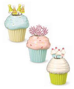 This Cupcake Appetizer Pick Set.  How darling for cupcake fondue or other small desserts!