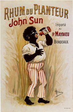 John Sun Caribbean RUM RHUM Vintage Labels, Vintage Ads, Vintage Images, Vintage Prints, Vintage Posters, Caribbean Rum, Drink Labels, Ron, Poster Vintage