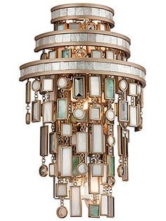 (Pinned 10/28/2016) Dolcetti Three Light Sconce in Silver