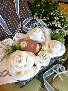 Love is in bloom, wedding season is here and you're invited to celebrate the happy day. I like to give something useful for young newlyweds because they're just starting out, making a home and in need of the necessities. See how our blogger created this beautiful towel rose wedding gift!
