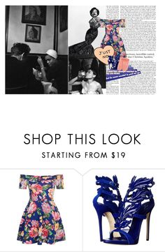 """i wanted a b.tch that was down to earth, but she want the d.mn sky"" by tytanic ❤ liked on Polyvore featuring New Look, Giuseppe Zanotti, Tara Jarmon and polyvorepoc"