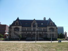 Old Post Office in Evansville, Indiana