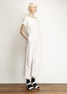 Rachel Comey Utila Jumpsuit (Dirty White)