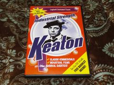 Industrial Strength Keaton (DVD, 2006) OOP Mackinac Media/Archival Buster Comedy