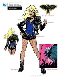 See DC Rebirth Designs For Deathstroke, Black Canary, Huntress and Superhero Characters, Comic Book Characters, Comic Character, Comic Books Art, Character Design, Superhero Suits, Character Sheet, Character Inspiration, Book Art
