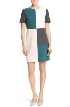 Ted Baker London Ardell Colorblock Dress available at #Nordstrom