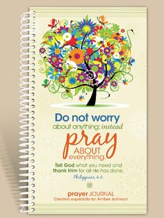 Personalized Gift / Notebook / Prayer Journal by IntegrityGraphics, $14.99
