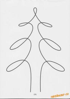 strom - jedním tahem