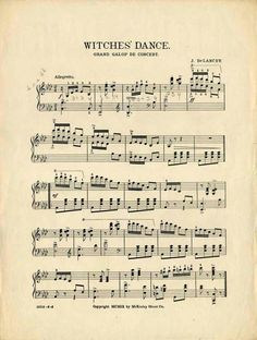 Witches dance