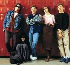 The Breakfast Club, I love this film. Also a common thread to a lot of my pins in this section is that Judd Nelson was a hottie in this film. I am a sucker for a pretty bad boy! Best Teen Movies, 80s Movies, Great Movies, Movie Tv, Amazing Movies, Cult Movies, Excellent Movies, Judd Nelson, The Breakfast Club