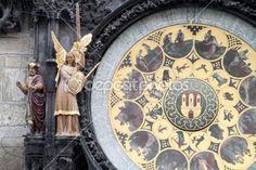 Astronomical clock, — Foto Stock #9796299