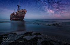 Shipwreck Dimitrios..Gythio.  Greece
