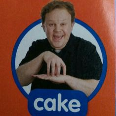 Cake - Makton / Sign / Mr Tumble / Something Special Australian Sign Language, British Sign Language, Sign Language Chart, Sign Language For Kids, Makaton Printables, Makaton Signs British, Libra, Mr Tumble