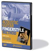 The Acoustic Guitar Fingerstyle Method DVD