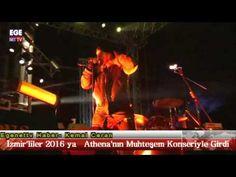 İzmir'liler 2016'ya ATHENA Grubunun  Muhteşem Konseriyle Girdi.