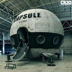 Dragon Ball Z Capsule Corp ship