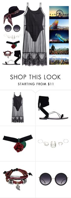 """""""Coachella 2017"""" by freida-adams ❤ liked on Polyvore featuring H&M, Valentino, Bling Jewelry and Alice + Olivia"""