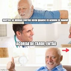 """. 😂😂 🇧🇷(as) minhas costas = 🇬🇧 my back / the definite article is optional before a possessive pronoun, so you can say either """"minhas costas"""" or """"as minhas costas"""" . 🇧🇷 doer (verb)= 🇬🇧 to ache; to hurt . 🇧🇷 dor (noun) = 🇬🇧 ache; hurt; pain . 🇧🇷 acordar = 🇬🇧 to wake up . 🇧🇷 de tarde (also """"à tarde"""") = 🇬🇧 in the afternoon . 🇧🇷 de noite (also """"à noite"""") = 🇬🇧 in the evening/at night . 🇧🇷 de manhã = 🇬🇧 in the morning (with """"manhã"""" you can't use the preposition """"a""""… Hurt Pain, Brazilian Portuguese, Prepositions, Wake Up, It Hurts, Sayings, Night, My Back Hurts, Lyrics"""