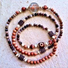 """4 Likes, 4 Comments - Toi Lynn Wyle (@theblissgoddess) on Instagram: """"""""I Trust Myself, The Universe & Divine Timing"""" - infinity style 108 beaded mala - petrified wood,…"""""""