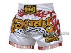 TOP KING Muay Thai shorts - Tattoo - Tassel                                                                                                                                                                                 Mais