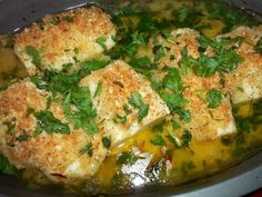 Butter fish...this fish is so easy to make and cray good!  My kids nibbled it up!