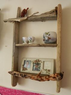 Driftwood Kitchen Double Shelf Stack 16 x by DriftwoodArtDesigner, £42.00