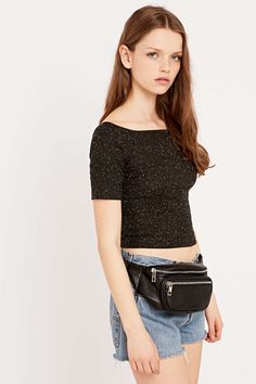 Vegan Leather Bum Bag - Urban Outfitters - for leeds