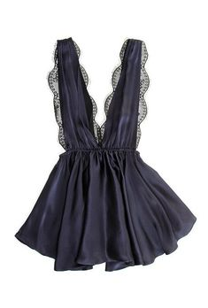 """Pinterest : @MazLyons """"Marilyn"""" babydoll, $238, Sapphire Bliss available at Oui Hours"""