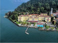 Readers' Rating: 86.126 Although Lake Como can feel ultra-private and secluded,  the Grand Hotel Villa Serbelloni makes it feel like the center of the world. The hotel offers regular excursions to Bergamo, Lugano, Saint Moritz, and the Borromean Islands, but it's also worth staying put in the evenings to take in the nightly live music in the lounge or a cleansing visit to the sauna.