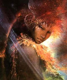 Pele - Goddess of Fire - Her mother was the Earth Goddess Haumea and her father, Wākea, ruler of the sky.