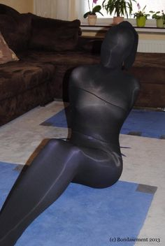 Pantyhose encased