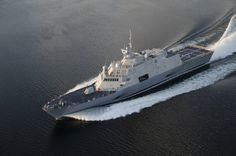 The littoral combat ship  Fort Worth (LCS 3)
