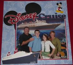 like mickey peeking out Cruise Scrapbook Pages, Travel Scrapbook, Scrapbook Cards, Disney Dream Cruise, Disney Cruise Ships, Disney Magic, Disney Pixar, Scrapbooking Layouts, Digital Scrapbooking