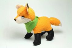 little felt fox pattern