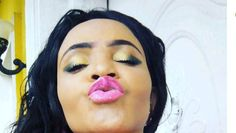 Cossy Ojiakor Rewards Crazy Fan Who Wrote Her Name On Tongue