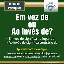 Resultado de imagen para dicas de portugues