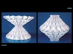 Lampada Origami Di Edward Chew : Best lamps cardboard and paper folding lÁmparas de papel y