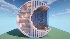 Minecraft Mods, Minecraft Villa, Minecraft Mansion, Cute Minecraft Houses, Minecraft House Tutorials, Minecraft City, Amazing Minecraft, Minecraft House Designs, Minecraft Construction
