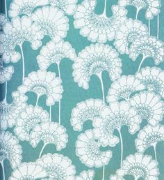 Florence Broadhurst metallic wallpaper made the top ten list on the blog.