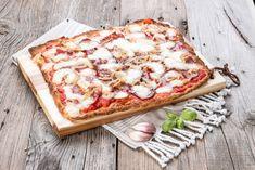 Pizza (lowcarb) Amatriciana by Froilainchen B. | froilainchen-b.blogspot.de | April 2017  geeignet für:  lowcarb | mehlfrei | sojafrei | lchf | Stoffwechselkur | ab erweiterterter | HCG