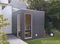 Die edle Sauna für Ihren Garten oder Ihre Dachterrasse - kompakt und dennoch mit höchstem Komfort.